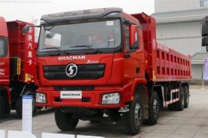 陕汽重卡 德龙X3000 加强版 400马力 8X4 7.6米 国五自卸车(SX5310ZLJ5C406)