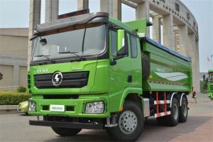 陕汽重卡 德龙X3000 加强版 400马力 8X4 7.6米 国五自卸车(SX33105C406B)