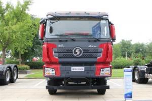 陕汽重卡 德龙X3000 超强版 400马力 8X4 8.5米 国五LNG自卸车(SX33186R456TL)