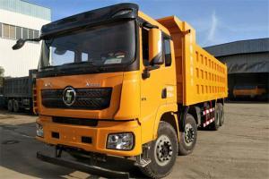 陕汽康明斯 德龙X3000 超强版 385马力 8X4 7.6米 国五自卸车(SX33105C406B)