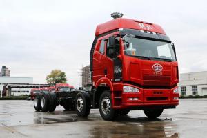 一汽解放 J6P重卡 绿通版 350马力 8X4 9.5米 国五载货车(CA1310P66K2L7T4E5)