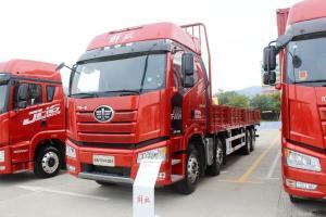 一汽解放 新J6P重卡 500马力 8X4 9.5米 国五栏板载货车(CA1310P66K24L7T4E5)