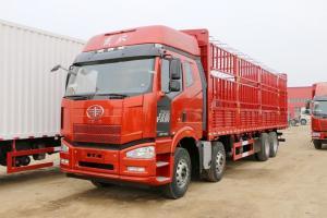 一汽解放 J6P重卡 420马力 8X4 9.5米 国五仓栅式载货车(CA5310CCYP66K2L7T4E5)