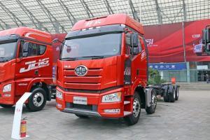 一汽解放 新J6P重卡 绿通版 460马力 8X4 9.5米 国五仓栅式载货车(CA5310CCYP66K24L7T4E5)