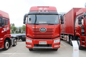 一汽解放 新J6P重卡 绿通版 375马力 8X4 9.4米 国五仓栅式载货车(CA5310CCYP66K2L7T4A1E5)