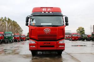 一汽解放 J6P重卡 舒适版 420马力 8X4 9.5米 国五栏板载货车(CA1310P66K24L7T4E5)
