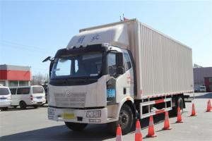 一汽解放 J6L中卡 180马力 7.7米 国五厢式载货车(CA5160XXYP62K1L5E5)