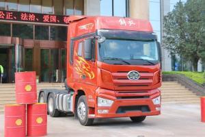 一汽解放 J7重卡 550马力 6X4 国五牵引车(CA4250P77K25T1E5)