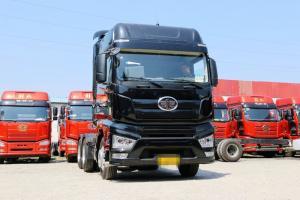 一汽解放 J7重卡 500马力 6X4 国五牵引车(黑色款)(CA4250P77K25T1E5)