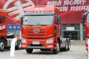 一汽解放 新J6P重卡 领航复合版 新北方款 550马力 6X4 国五牵引车(CA4250P66K25T1A2E5)