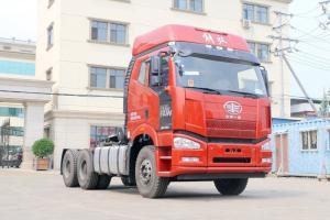 一汽解放 J6P重卡 舒适版 375马力 6X4 国五LNG牵引车(435后桥)(CA4250P66T1A1E24M5)