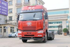 一汽解放 J6P重卡 460马力 6X4 国五危险品牵引车(CA4250P66K24T1A1E5Z)