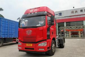 一汽解放 J6M重卡 320马力 4X2 国五危化品牵引车(CA4180P63K1E5Z)