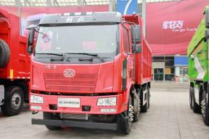一汽解放 J6L重卡 320马力 8X4 7米 国五自卸车(大柴)(CA3310P62K1L1T4E5)