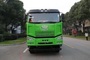 一汽解放 J6P重卡 350马力 8X4 7.6米 国五自卸车(CA3310P66K2L4T4E5)
