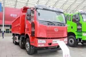一汽解放 J6L重卡 320马力 8X4 6.2米 国五自卸车(CA3310P63K1LT4E5)