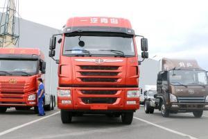 一汽解放青汽 天V重卡 420马力 6X4 国五牵引车(CA4256P2K15T1E5A80)