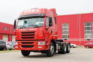 一汽解放青汽 天V重卡 430马力 6X4 京五牵引车(CA4256P2K15T1E5A80)