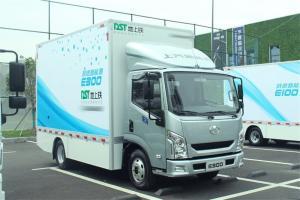 上汽跃进 EC300-33 4.5T级 单排 106.95kWh 纯电动厢式载货车(SH5047XXYZFEVMZ1)