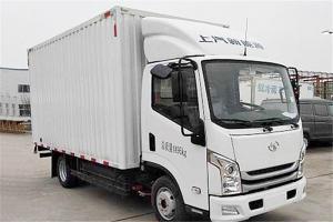 上汽跃进 EC100-33 4.5T级 单排 77.76kWh 纯电动厢式运输车载货车(SH5047XXYZFEVNZ2)