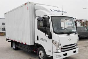 上汽跃进 EC100-33 4.5T级 单排 81.14kWh 纯电动厢式运输车载货车(SH5047XXYZFEVNZ4)