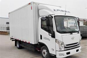 上汽跃进 EC100-33 4.5T级 单排 81.14kWh 纯电动厢式运输车载货车(SH5047XXYZFEVNZ5)