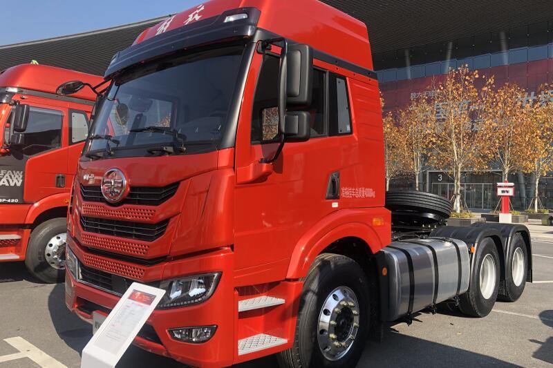 一汽解放青汽 悍V2.0重卡 460马力 6×4 国六牵引车(CA4253P1K2T1E6A80)
