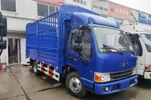 江淮 新康铃H5 95马力 4.18米 国五单排仓栅式轻卡载货车(HFC5043CCYP92K1C2V-S)