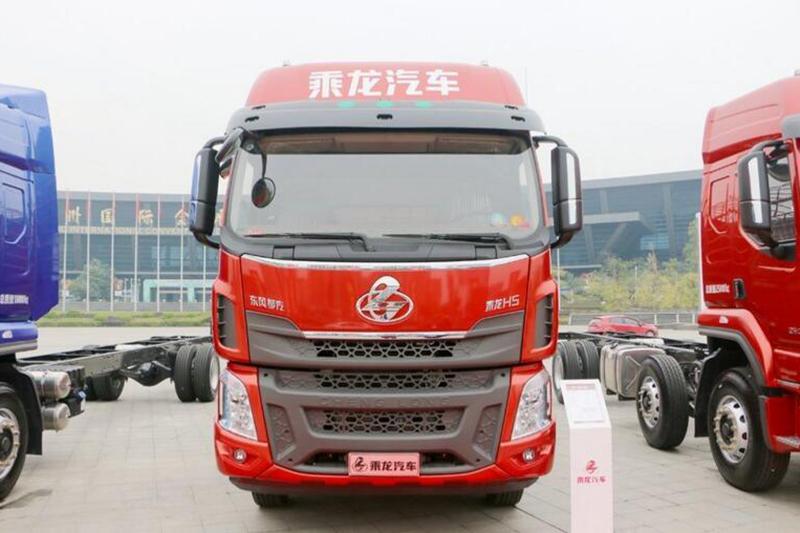 东风柳汽 乘龙H5 220马力 4X2 国五 6.8米仓栅式载货车(高顶双卧)(LZ5182CCYM3AB)