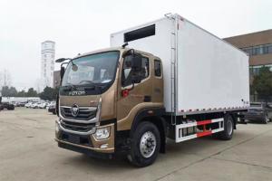 福田奥铃 大黄蜂 210马力 4×2 6.8米排半 冷藏车(BJ5186XXY-A1)