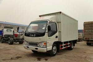江淮 康铃33窄体 120马力 4.15米 国五单排厢式轻卡载货车(HFC5041XXYP93K1C2V)