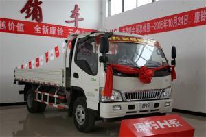 江淮 康铃33窄体 120马力 4.18米 国五单排栏板轻卡载货车(HFC1041P93K3C2V)