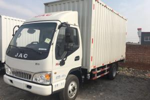 江淮 康铃33窄体 标载版 115马力 4.15米 国五单排厢式轻卡载货车(HFC5041XXYP93K1C2V-1)