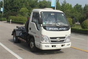 时代汽车 小卡之星2 68马力 4X2 国五 车厢可卸式垃圾车(BJ5042ZXX-AA)