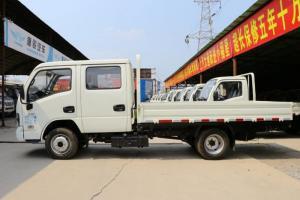 上汽跃进 福运S80 113马力 4×2 国六 双排 栏板载货车 轴距2850mm