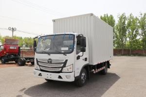 福田 欧马可S1系 156马力 4.14米 国六 单排厢式轻卡载货车(BJ5048XXY-F3)