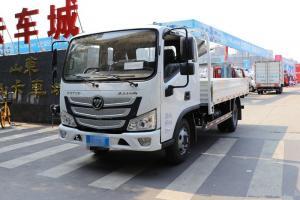 福田 欧马可S3系 156马力 5.25米 国六 排半栏板轻卡载货车(BJ1108VEJED-F3)