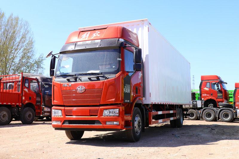 一汽解放 J6L重卡 180马力 4X2 7.7米 国六 厢式载货车(CA5160XXYP62K1L5E6)