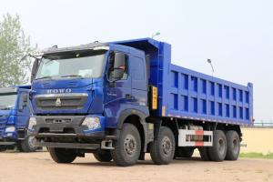 中国重汽 HOWO T7H重卡 440马力 8X4 7.6米 国五 自卸车(12挡)(ZZ3317V386HE1)