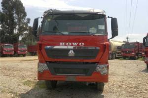 中国重汽 HOWO T7H重卡 400马力 8X4 8米 国五 自卸车(ZZ3317V426HE1)