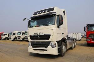 中国重汽 HOWO T7H重卡 440马力 6X4 国六 牵引车(ZZ4257V324HF1B)