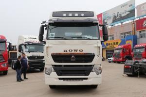 中国重汽 HOWO T7H重卡 440马力 6X4 国六 LNG牵引车(ZZ4257V384HF1LW)