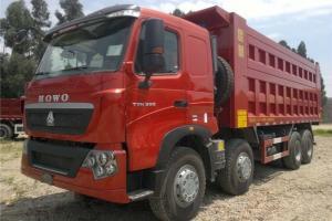 中国重汽 HOWO T7H重卡 440马力 8X4 7.6米 国五 自卸车(ZZ3317V386HE1)