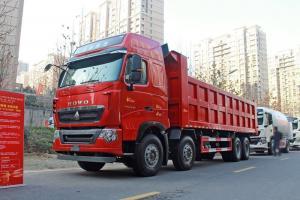 中国重汽 HOWO T7H重卡 400马力 8X4 8.2米 国五 自卸车(ZZ3317V466HE1)