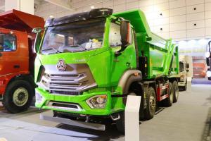 中国重汽 豪瀚N6G重卡 380马力 8X4 5.6米 国五 自卸车(ZZ3315N286WE1)
