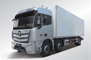 福田 欧曼EST 6系重卡 245马力 6X2 9.45米 国五 冷藏车(459后桥)(BJ5259XLC-AA)