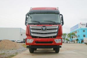 福田 欧曼EST 6系重卡 375马力 8X4 9.5米 国五 冷藏车(BJ5319XLC-AB)