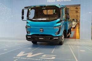 飞碟汽车 W5 130马力 4×2 国六 4.18米 单排平板载货车(FD1040W68K6-1)