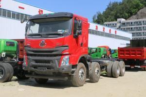 东风柳汽乘龙 H7 400马力 8X4 7.6米 国五 LNG自卸车(LZ3311H7FL)