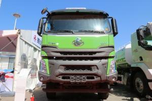 东风柳汽乘龙 H7 320马力 8X4 7.6米 国五 自卸式垃圾车(LZ5310ZLJH7FB)